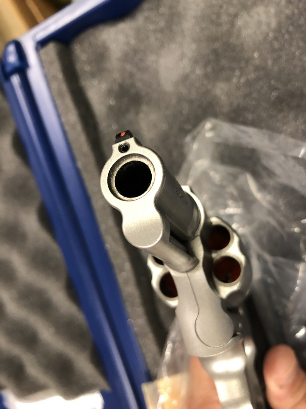 "DAN WESSON 715 357MAG 6"" SS"