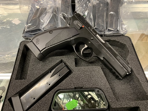 CZ 75 SP01 9mm Custom Enhanced USED w/Extra Mags