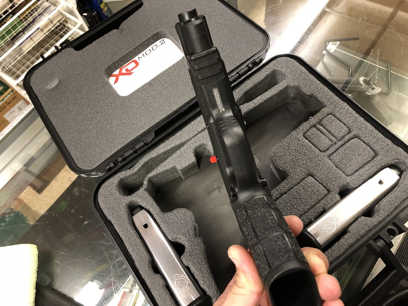 "Springfield Armory XD Mod2 45 TACTICAL 5"" USED"