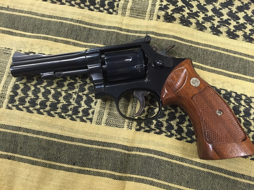 Smith & Wesson Model 15-3 Circa 1975 Used 4 inch 38 special