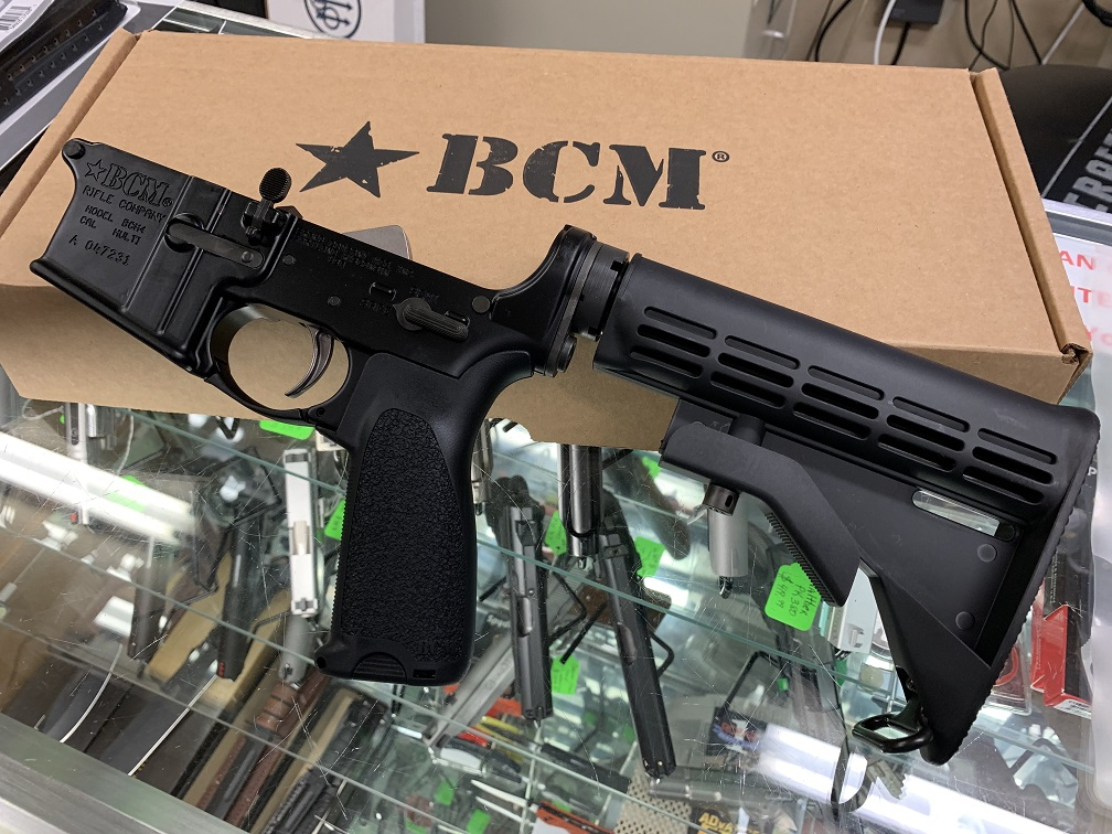 BCM LOWER GROUP W/MILSPEC M4 STOCK