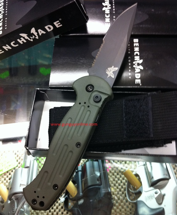 Benchmade AFO II Olive Drab Limited Edition Auto