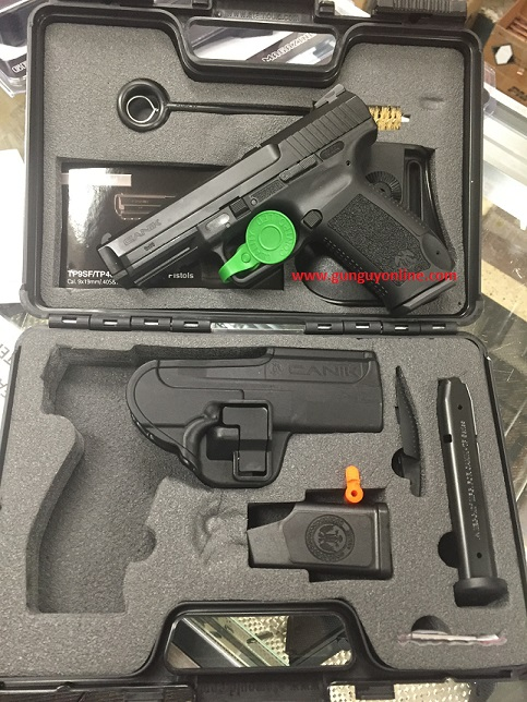 CANIK TP9 SF 9MM 18RD BLACK