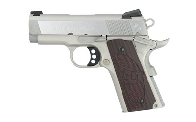 "Colt  Defender SS Compact 1911 45ACP 3"" Barrel Stainless Finish"