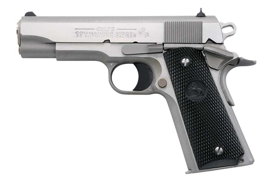 "COLT Commander 45ACP 4.25"" Stainless"