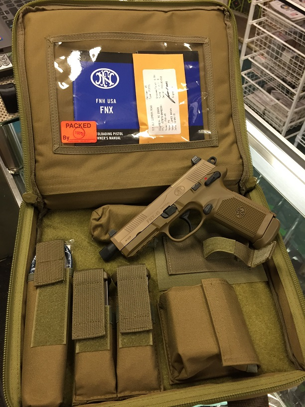FN FNX45 Tactical FDE USED like New