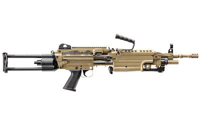 "FN M249S 5.56 NATO 16.1"" BELT FED  FDE PARA TROOPER"