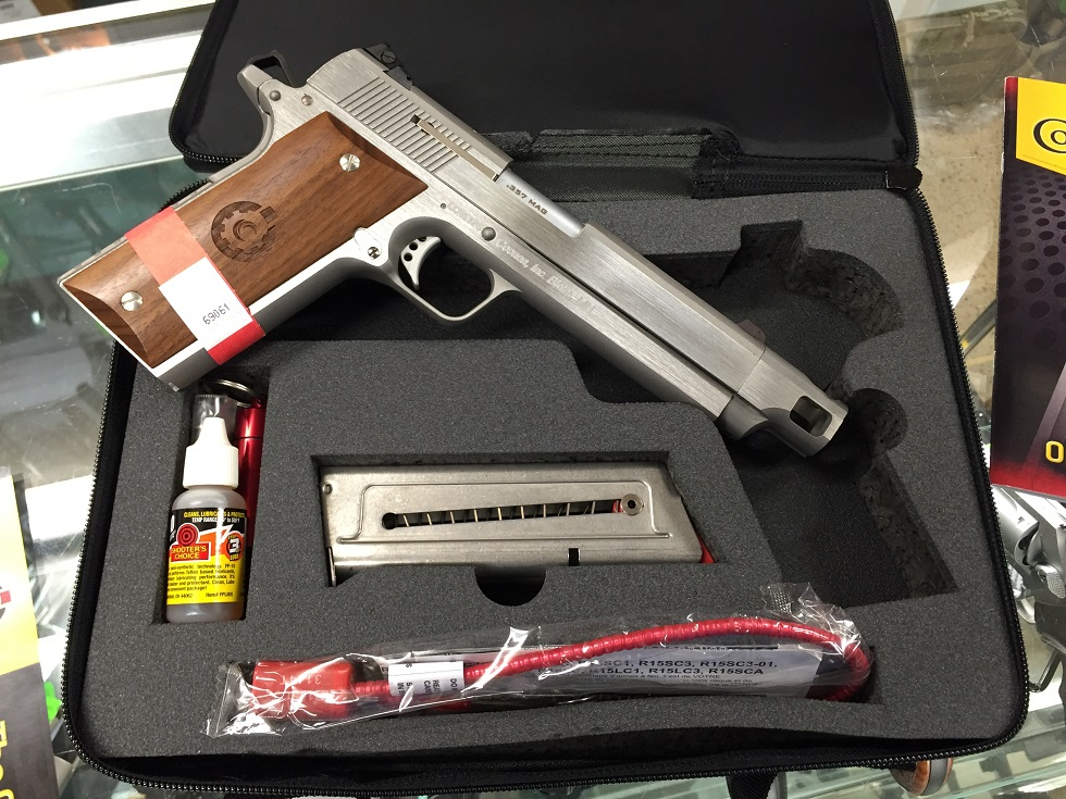 Coonan Classic – with Compensated Barrel – Stainless Steel with