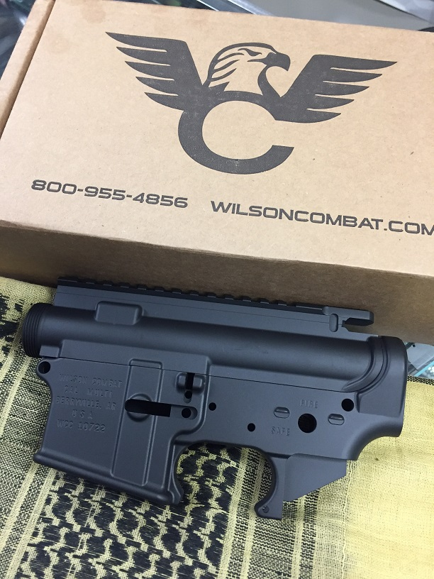 WILSON COMBAT UPPER & LOWER Reciever AR MATCHED SET