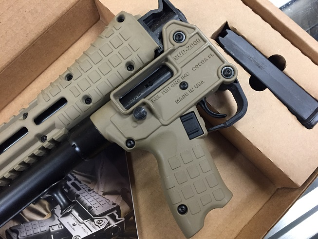 KELTEC SUB 2000 9MM 17RD Glock TAN