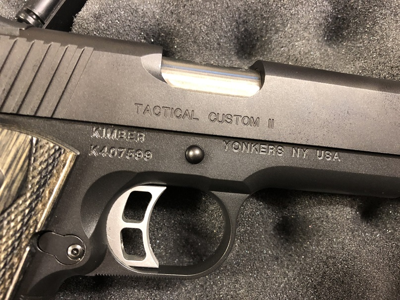 Kimber Tactical Custom II USED