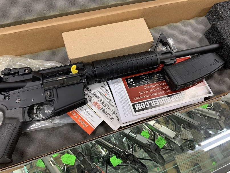 Ruger AR-556 #8500 5.56mm Rifle USED