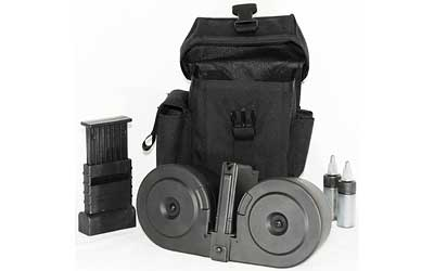 SGM Tactical AR15 5.56mm/.223 DRUM 100RD W/POUCH