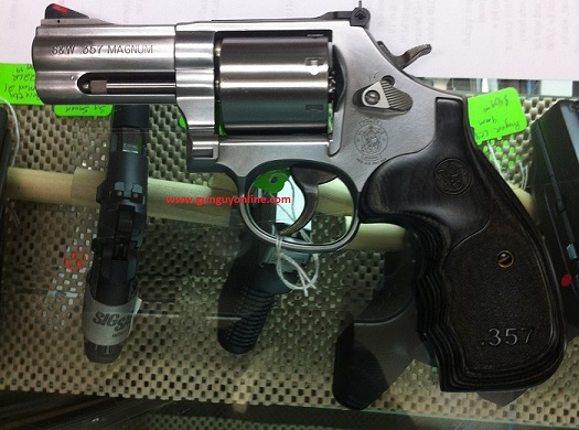 Smith & Wesson 686+ Talo Edition 357 7 shot 3 inch