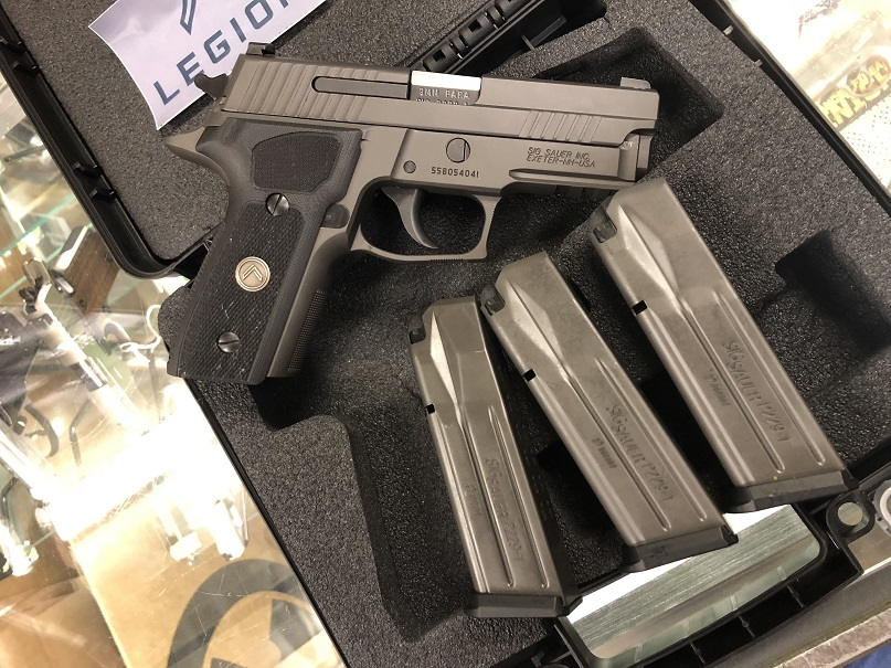 Sig Sauer P229 LEGION 9MM USED w/3 Mags