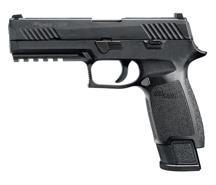 Sig Sauer P320F TACOPS 9MM  Night Sights