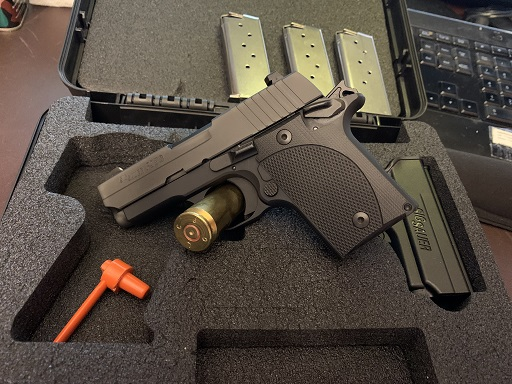 Sig Sauer P938 9mm 3/Mags VZ Grips USED EXCELLENT
