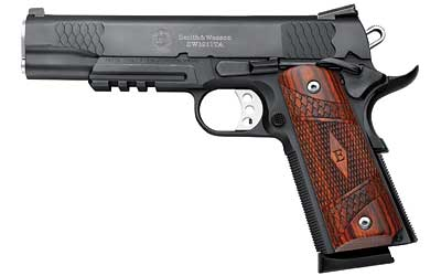 "Smith & Wesson 1911TA E 45ACP 5"" BL NS RAIL WD"