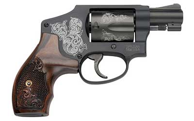 "Smith & Wesson 442 1.875"" 38SPL 5RD ENGRAVED"