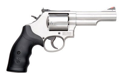 "S&W 69 4.25"" 44MAG 5RD STS AS RBR"