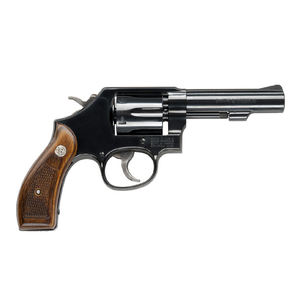 "Smith & Wesson Model 10 4"" 38 BLUE"