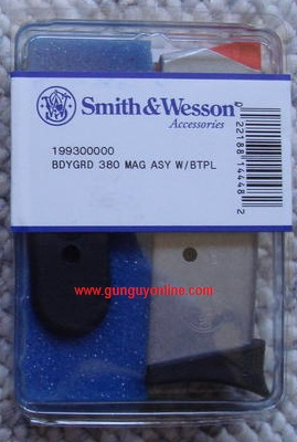 Smith & Wesson 380 Bodyguard 6 round
