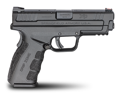"Springfield Armory XD MOD 2  9MM 4"" BLK 16RD"