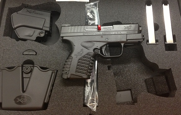 Springfield Xds 9mm Compact Springfield Xds 9mm 3.3 Blk
