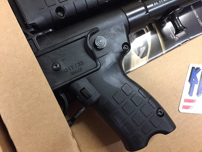 KELTEC SUB 2000 9MM Glock 17RD Black
