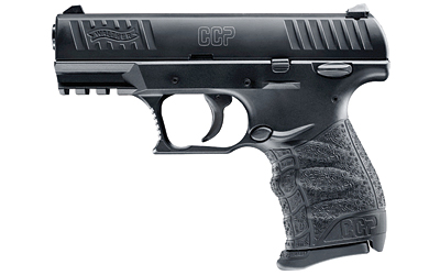 "WALTHER CCP 9MM 3.54"" BLK 8RD"