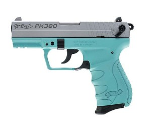"WALTHER PK380 380ACP 3.6"" 8RD ANGEL BLUE"