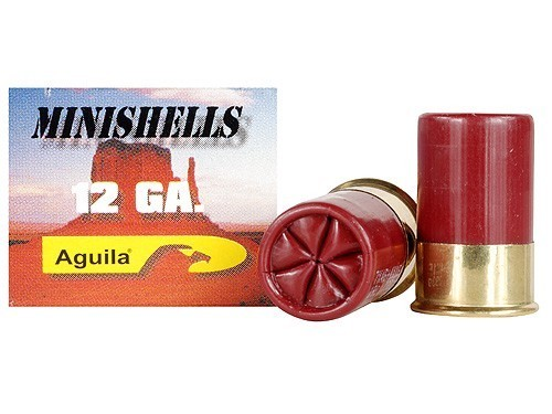 "Aguila 12 gauge Minishells 1-3/4"" #4 and #1 Buckshot"