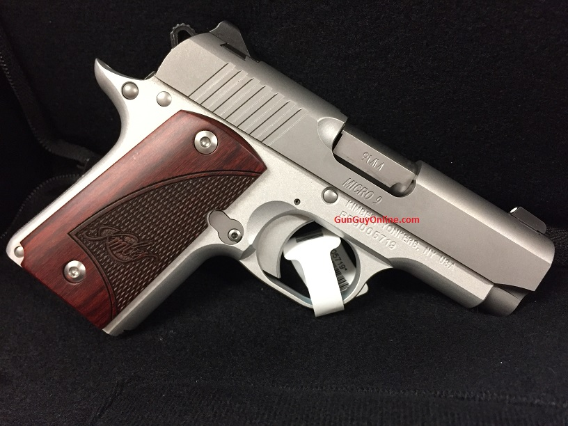 Kimber Micro 9 9mm 6rd Rosewood Stainless