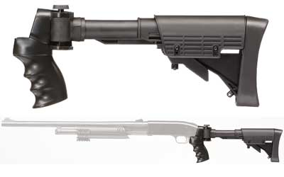 ADV TECH SIDE FOLDING 6-POS SHOTGUN
