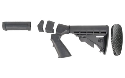 ADV TECH 6-POS STK/FOREND KIT BLK