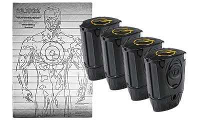 TASER C2 AIR CARTRIDGES 4-PK W/TRGT
