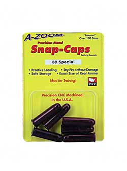 AZOOM SNAP CAPS 38SPL 6/PK