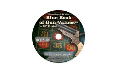 BLUE BOOK GUN VALUES 34TH EDIT CD-RM