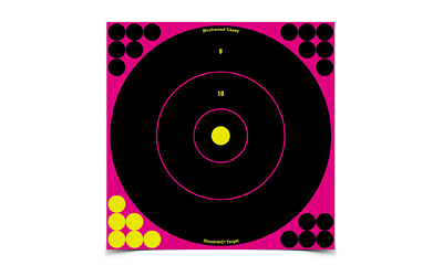 "B/C SHOOT-N-C BULLS EYE 12"" 5PK"