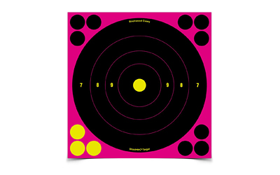 "B/C SHOOT-N-C BULLS EYE 8"" 6PK"