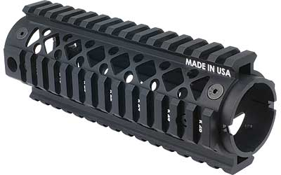 BH AR15 CAR LENGTH 2PC QUAD RAIL BLK