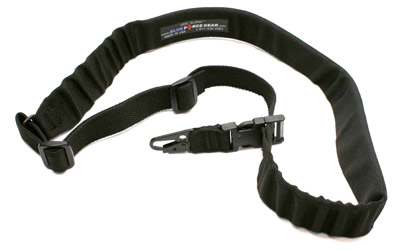 BL FORCE 1-PT PADDED BUNGEE SLNG BLK