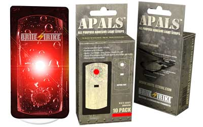 BRITE-STRIKE APALS 10 PK, RED