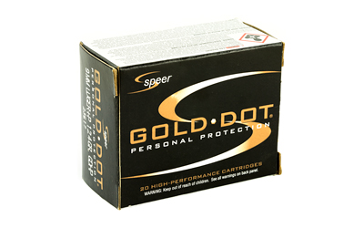 SPR GOLD DOT 9MM+P 124GR HP 20/500