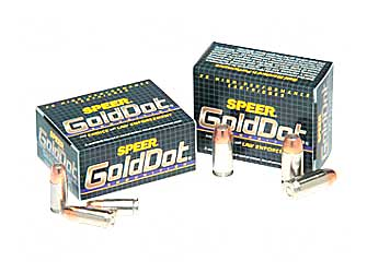 SPR GOLD DOT 40SW 155GR HP 20/500