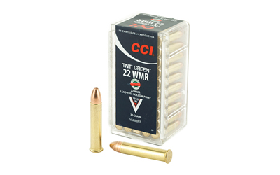 CCI 22WMR 30GR HP TNT GREEN 50/2000