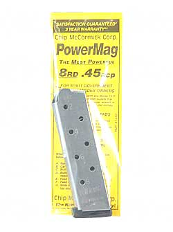 CHIP MCCRMK POWER MAG 8RD 45ACP SS