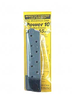 CHIP MCCRMK POWER MAG 10RD 45ACP SS