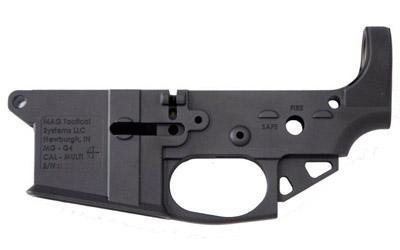 MAG TACT LOWER STRIPPED ULTRA LT BLK