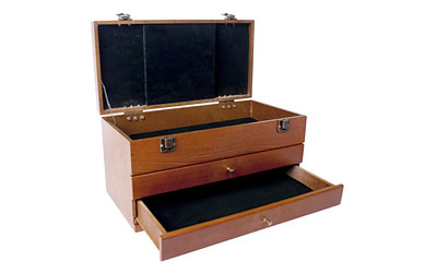 DAC TOOL BOX TWO DRAWER WOOD